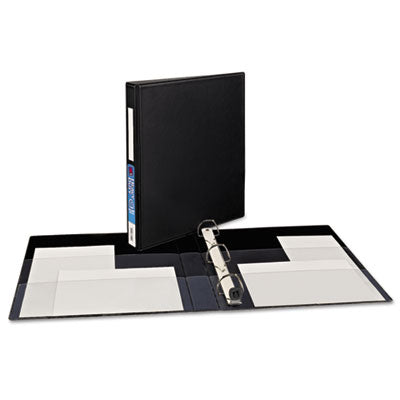 Avery Heavy-Duty Binder with 1-Inch One Touch EZD Ring, Black (79990)