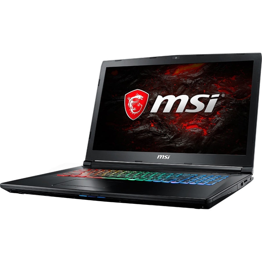 "MSI GP72X Leopard-667 17.3"" 120Hz 5ms Display Thin and Light Gaming Laptop i7-7700HQ GTX 1050 4G 16GB 128GB NVMe SSD + 1TB Win10 Full Color RGB Keyboard"