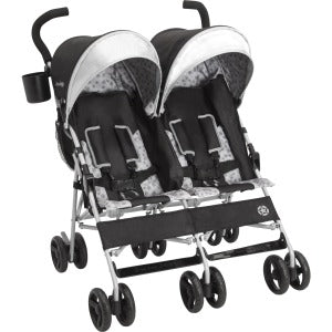 Brand Scout Double Stroller Charcoal Galaxy