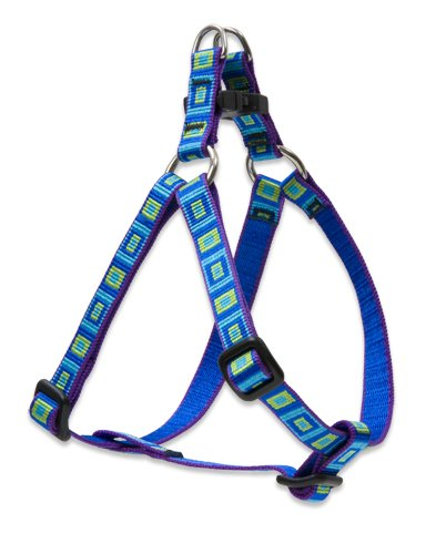 "LupinePet Originals 1/2"" Sea Glass 12-18"" Step In Harness for Small Dogs"