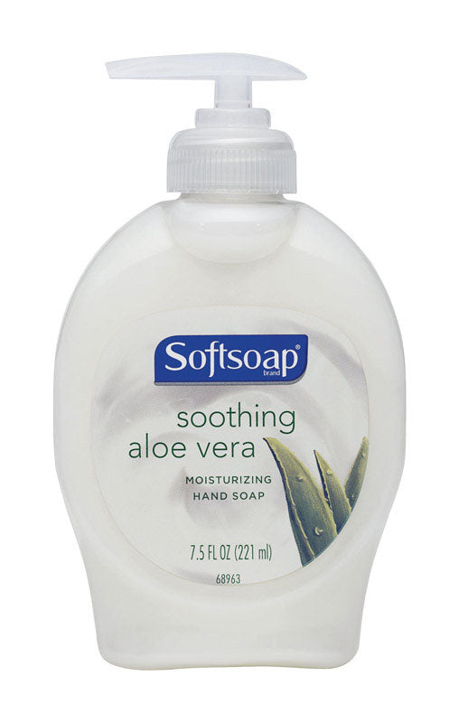 Softsoap Liquid Hand Soap, Moisturizing with Aloe, 7.50-Ounce (Pack of 12)
