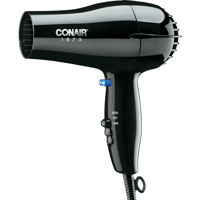 Conair 1875W Black Hair Dryer Blowdryer 247BW
