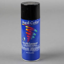 Dupli-Color DAL1677 Gloss Black General Purpose Acrylic Lacquer - 12 oz.