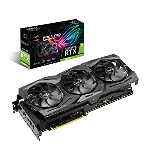 ASUS ROG Strix GeForce RTX 2080Ti Advanced A11G GDDR6 HDMI DP 1.4 USB Type-C (ROG Strix RTX 2080Ti A11G) Graphic Cards ROG-STRIX-RTX2080TI-A11G-GAMING