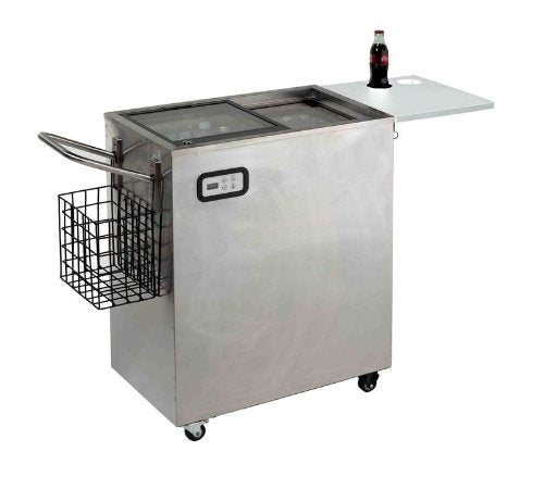 Avanti ORC2519SS 2.4 Cu.Ft. Outdoor Beverage Cart, Stainless Steel