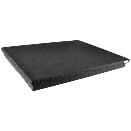 Sound Dampening Speaker Riser Foam - Audio Acoustic Noise Isolation Platform Pads Recoil Stabilizer w/ Rubber Base Pad For Studio Monitor, Subwoofer, Loudspeakers - Pyle PSI12 (22.5 x 17.8 x 1.8 Inch)