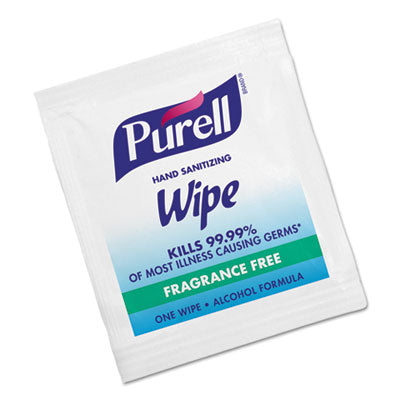 Premoistened Sanitizing Hand Wipes, Towelettes Individually Wrapped , 100/box