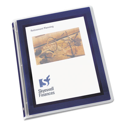 Avery Flexi-View .5 Inch Binder, Navy Blue, 1 Binder (15766)