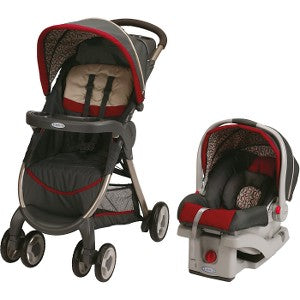 FastAction SnugRide Click Connect 30 Travel System, Finley