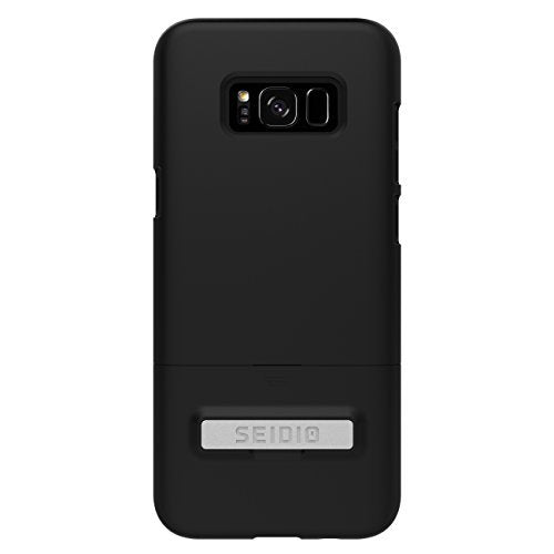 Seidio Surface Kickstand Cell Phone Case for Samsung Galaxy S8 Plus NOT for S8 - Black