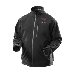 Milwaukee Jacket KIT M12 12V Lithium-Ion Heated Front and Back Heat Zones All Sizes and Colors - Battery and Charger Included (2X-Large, Black)
