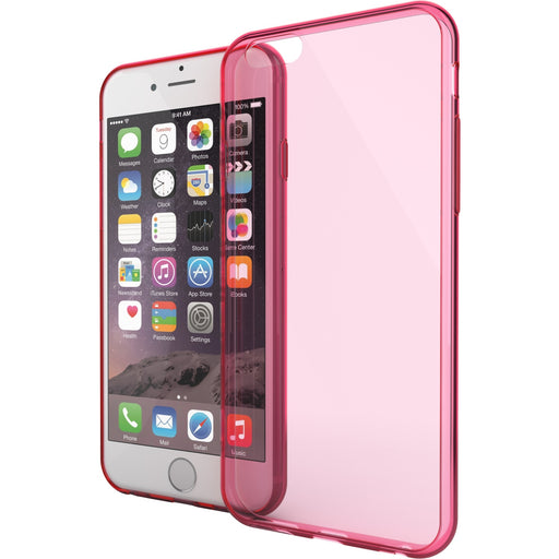 TAMO iPhone 6 Plus/6s Plus Case, TAMO Slim Armor - Integrated Shock-Absorbing Shatterproof frame Anti-scratch Hybrid Protection - Carrying Case - Retail Packaging - Pink