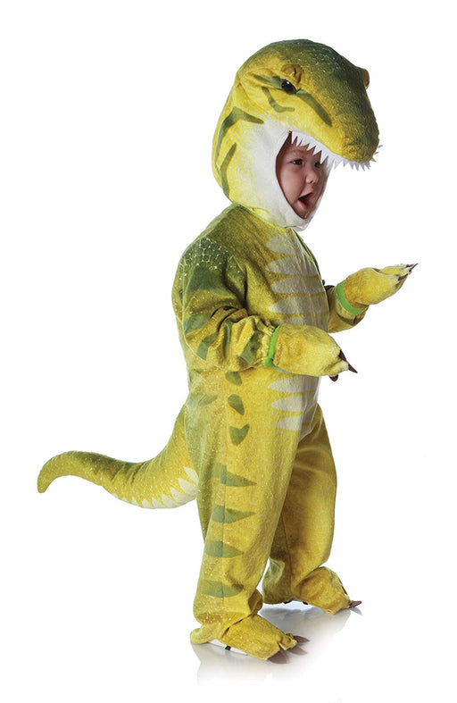 Underwraps Costumes Baby Toddler's T-Rex Costume Jumpsuit, Green, X-Large (4-6 Yrs)
