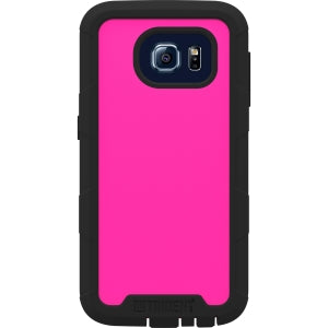 Trident Cyclops Case for Samsung Galaxy S6 - Smartphone - Pink - Thermoplastic Elastomer (TPE), Polycarbonate, Silicone - 48 Drop Height