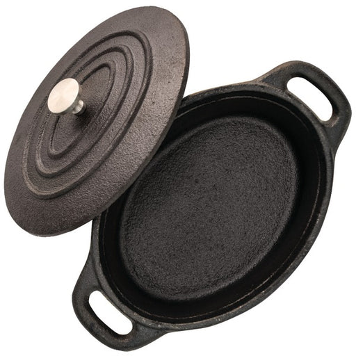 "STARFRIT 062143-008-0000 5.3"" Mini Cast-Iron Cocotte with Lid"