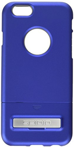 Seidio SURFACE with Metal Kickstand Case & Belt-Clip Holster for iPhone 6/6S - Non-Retail Packaging - Royal Blue/Gray