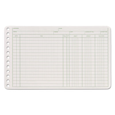 ABFARB58100 - Adams Ledger Binder Refill Sheets