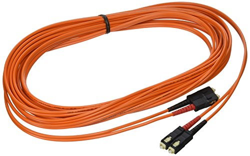 C2G/Cables to Go 14566 SC/SC Duplex 50/125 Multimode Fiber Patch Cable (7 Meters, Orange)