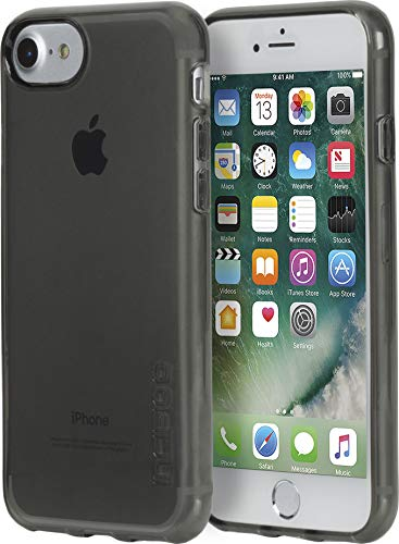 Incipio NGP Pure iPhone 8 & iPhone 7/6/6s Case with Clear, Shock-Absorbing Polymer for iPhone 8 & iPhone 7/6/6s - Gray