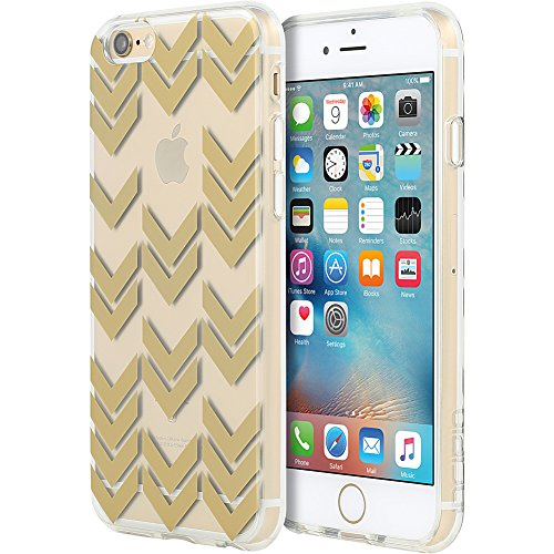 iPhone 6S Case, Incipio Isla Design Series Case [Scratch Resistant] Cover fits Both Apple iPhone 6, iPhone 6S - Gold
