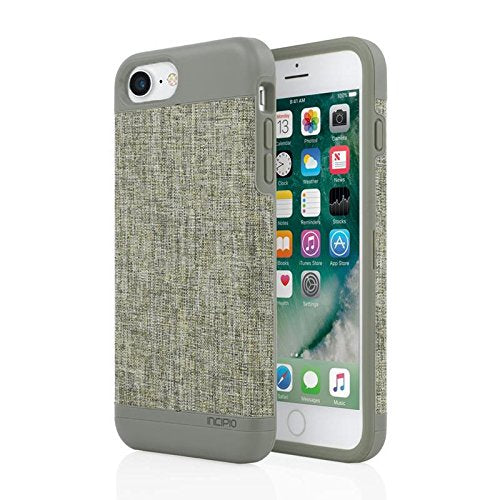 iPhone 7 Case, Incipio Esquire Wallet Series [Credit Card Case] Cover fits Apple iPhone 7 - Heather Khaki