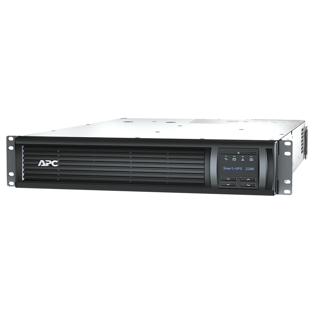 APC SMT2200RMUS UPS, Rack-Mountable, Black