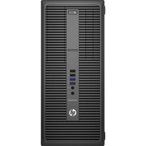 HP EliteDesk 800 G2 Desktop Computer - Intel Core i3 (6th Gen) i3-6100 3.70 GHz - 8 GB DDR4 SDRAM - Tower - Intel HD Graphics 530 Graphics - 10 x Total USB Port(s)