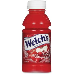 Welch's Apple/Cranberry Juice, 10 oz - Pk of 24