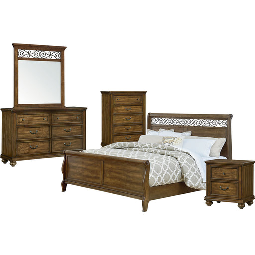 Cambridge Flemington 5-Piece Bedroom Suite King