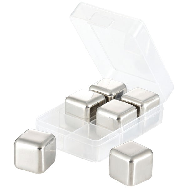 STNLSS STEEL ICE CUBES
