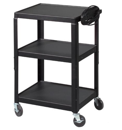 Factory Utility Cart: Balt 26-Inch To 42-Inch Adj Utility Cart, Black