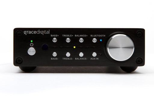 Grace Digital GDI-BTAR513 100 Watt Digital Integrated Stereo Amplifier with Built-in AptX Bluetooth Wireless Stereo Receiver