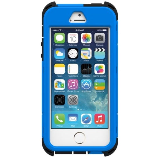 Trident Kraken Series Case for Apple iPhone 5/5S - Retail Packaging - Blue