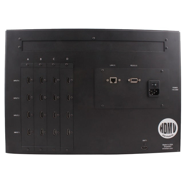 16PORT HDMI STEREO AUDIO RS-232