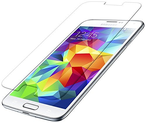 Seidio VITREO Tempe Glass Screen Protector for Samsung Galaxy S5 - Retail Packaging - Crystal Clear