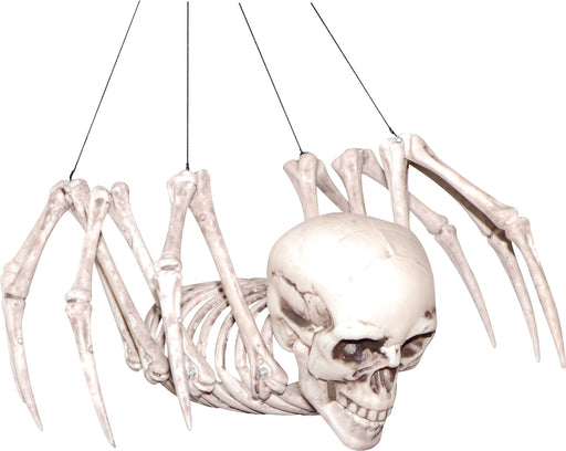 Spider Skeleton Halloween Prop
