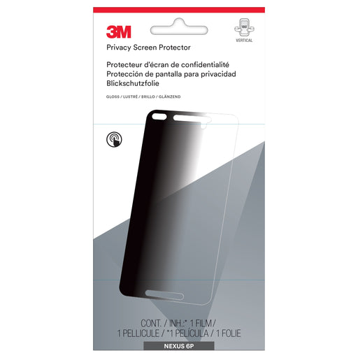 3M Privacy Screen Protector for Google Nexus 6P Phone (MPPGG001)