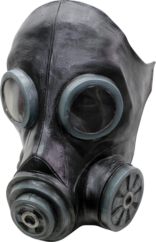 Black Smoke Gas Mask