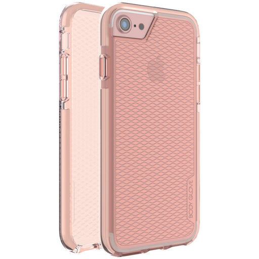Body Glove 9618001 Prizm Impact Case for iPhone(R) 7 Plus (Pearl Blush/White)