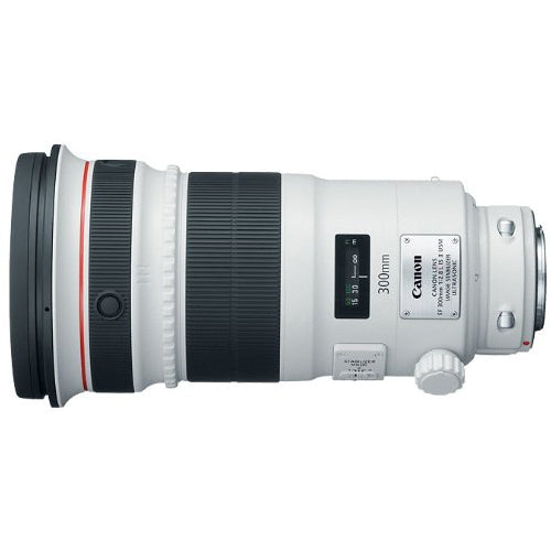 Canon 4411B002 - 300 mm - f/2.8 - Telephoto Lens for Canon EF/EF-S - 52 mm Attachment - USM - 5Diameter