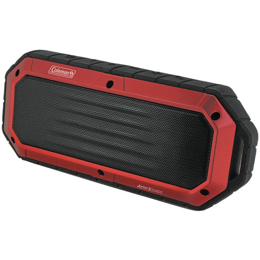 Coleman Aktiv Sounds Waterproof Bluetooth Slim-Line Speaker (CBT16-R)