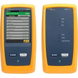 Fluke Networks 4285109 Model DSX-5000 120 Cable Analyzer Module, Set of CAT 6A/Class EA Permanent Link Adaptors