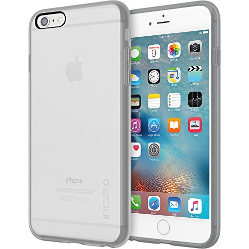 iPhone 6S Plus Case, Incipio Octane Pure Case [Shock Absorbing] Cover fits Apple iPhone 6 Plus, iPhone 6S Plus - Clear/Gray