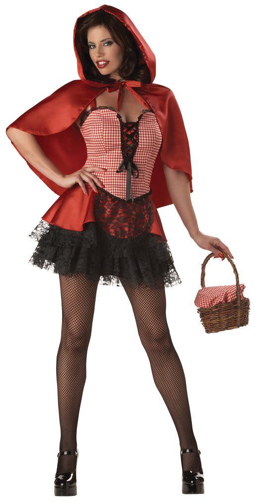 Red Hot Riding Hood Adult Costume (Small)