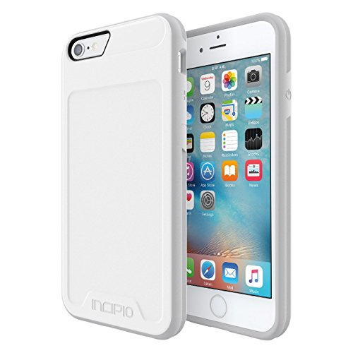 iPhone 6S Case, Incipio [Performance] Series Level 2 [Drop Protection] Cover fits Both iPhone 6, iPhone 6S - White/Light Gray
