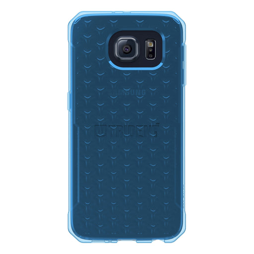Galaxy S6 Case, Slim Fit Transparent Silicone Gel Shell Cover - Soft Skin Sleeve, Protective Flexible Rubber Gel, Jelly Phone Cases - Transparent Blue, Krios Gel Series