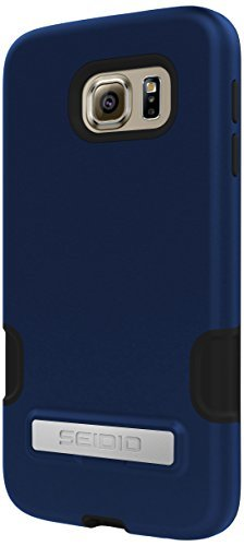 Seidio Dilex Pro Case with Metal Kickstand for Samsung Galaxy S6 - Retail Packaging - Royal Blue