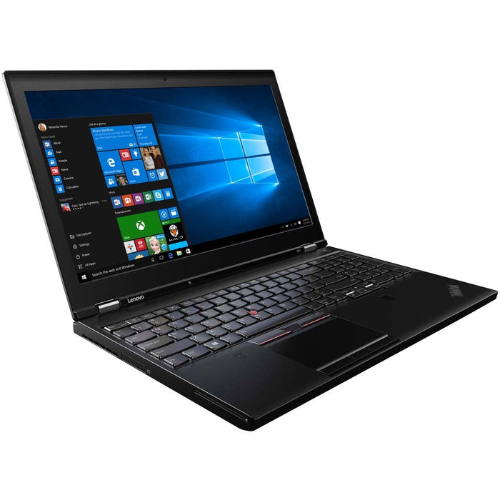 Lenovo Notebook 20HH000WUS ThinkPad P51 15.6 inch Core i7-7700HQ 8GB 256GB SSD