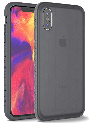 "Impact Gel Crusader Chroma Series Case iPhone Xs Max (6.5"" Screen) - Retail Packaging (Ice Gray)"