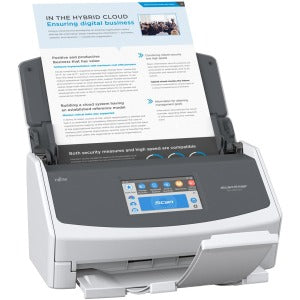 ScanSnap iX1500 Color Duplex Document Scanner with Touch Screen for Mac and PC
